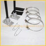 Bride de bandeau publicitaire de Pôle de réverbère en métal (BS-BS-023)