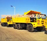 Vendita calda! 40 - 50 tonnellate di Powsun di estrazione mineraria di autocarro con cassone ribaltabile
