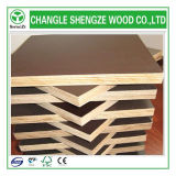 Твёрдая древесина Core Phenolic Black/Brown/Red Shuttering Plywood для Construction