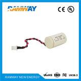 전류계 (ER14250)를 위한 1/2AA 3.6V 1.2ah 리튬 건전지