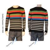 Suéter colorido de la raya del nuevo estilo de los hombres (SW1303)