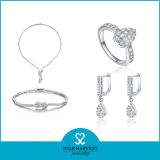 Nuovo Finger 925 Sterling Silver Jewelry Set per Promotion (J-0038)