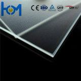 glace inférieure de fer de 2.8mm/3.2mm/4.0mm pour le module de panneau solaire