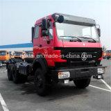Cabeça norte do caminhão do trator da capacidade 6X4 de Beiben 480HP 100ton do Benz