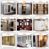 N&Lの戸棚デザインの現代贅沢な木の寝室の家具の歩行