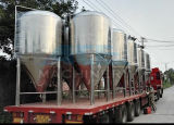 De kegel Gisters van het Bier van het Roestvrij staal met Jasje (ace-fjg-J4)