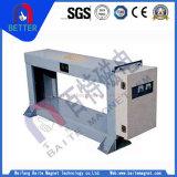 Mineração/ferro/detetor de metais da série de Gjt da eficiência ISO9001 elevada para o transporte de correia/central energética térmica