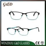 Marco óptico del metal de Eyewear de las nuevas lentes populares del diseño