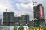 6t Construction Crane Qtz80 (TC6013B) en Maximum Height van 210m