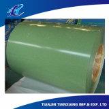 Покрынный цвет листа толя Prepainted гальванизированная стальная катушка