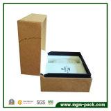 Kundenspezifischer Plastikuhr-Kasten mit der Papierverpackung