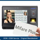 système sans fil de contrôle d'accès de Linux Fingeprint MIFARE d'appareil-photo d'IP 3G