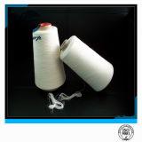 100% färbten Polyester-nahe Jungfrau-einzelnes gesponnenes Garn