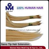 La extremidad nana 1g escoge la extensión brasileña del pelo humano de la Virgen del pelo humano