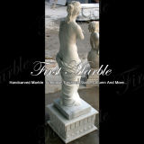 Statua bianca Ms-147 di Carrara della statua del granito della statua della pietra della statua di marmo
