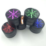 Smerigliatrice di erbe del lampo freddo di stile di modo per la sigaretta di fumo (ES-GD-008)