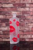 Высоко освободите подгонянную замороженную бутылку водочки при напечатанный логос
