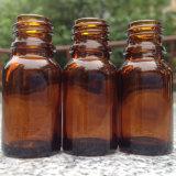 Botella de petróleo esencial del vidrio de Brown con el cuentagotas (NDB08)