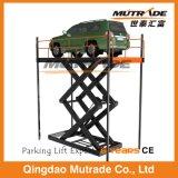 Scissor тип вертикальный гидровлический подъем лифта автомобиля