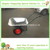 Economische 65L Double Wheel Wheelbarrow met Best Quality (WB6407)
