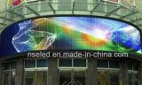 Nuevo diseño curvado Interior LED LED de la pantalla de visualización