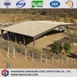 Edificio de la estructura de acero/vertido para el rancho