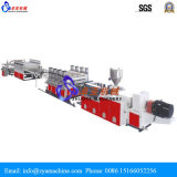 Máquina gêmea da extrusora de parafuso do PVC para Celuka/manufatura do painel de descascamento