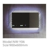최신 판매 현대 녹슬지 않는 목욕탕 방수 LED 가벼운 미러