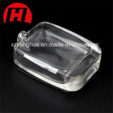 Frasco de perfume do quadrado do cristal do luxo 100ml
