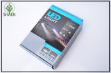 faro dell'automobile LED di 6000lm 60W H4