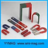 鋳造物のアルニコUの形の永久マグネット使用された蹄鉄