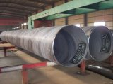 Tubo saldato spirale del acciaio al carbonio