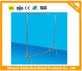 Metallrahmen-Kleidungs-Bildschirmanzeige-Zahnstangen mit Förderung-Regal-Kleid-System-Befestigungen