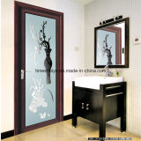 Астетическая дверь двери и ливня ванной комнаты и дверь Casement