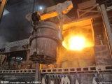 Usine sidérurgique utilisée dans l'aciérie moulant le pont roulant