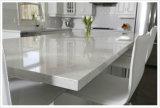 Туманный Countertop ванной комнаты камня кварца Carrara изготовленный на заказ