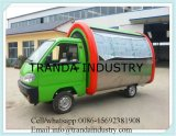 Mobile Food Car / Electric Food Bus para venda de sorvete