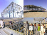 鉄骨構造の構築のプレハブの研修会