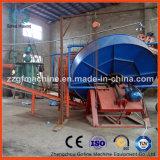 Proceso de la granulación del fertilizante del abono del ganado