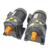 мотор шестерни AC редуктора скорости 0.75kw 220/380V малый зацепленный