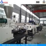 Chaîne de production de double pipe de conduit de câble électrique de PVC/machine d'extrudeuse