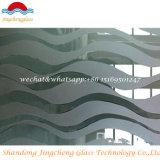 Покрашенное стекло поливы/здание стеклянное с аттестацией SGS/ISO