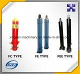 Cilindro hidráulico de las partes frontales graduales calientes de la venta
