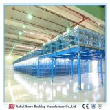 Défilement ligne par ligne en acier de mezzanine et de plate-forme de Muti-Niveau d'opération lourde d'entrepôt de la Chine