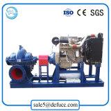 Bomba centrífuga de la capacidad de la succión grande del motor diesel para el sistema de irrigación