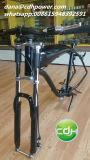 """Vélo motorisé parGaz triple de la fourche W/Double de suspension d'arbre de la fourche 26 de bicyclette """" -"""