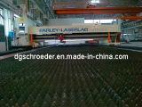 Machine de découpage de cannelure de laser de zones amples de Walc