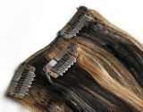 Human Hair Extensions에 있는 Hair Extensions Piano Color Clip에 있는 실크 Straight Hair Clip
