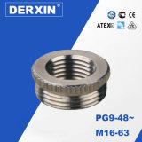 De ronde Adapter van de Draad van het Reductiemiddel voor Pg de Metrische Klier van de Kabel van het Metaal