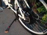 Bicicleta elétrica MTB dentro da bateria de lítio no frame (OKM-1357)